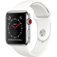 Умные часы Apple Watch Series 3 Cellular Stainless Steel 42